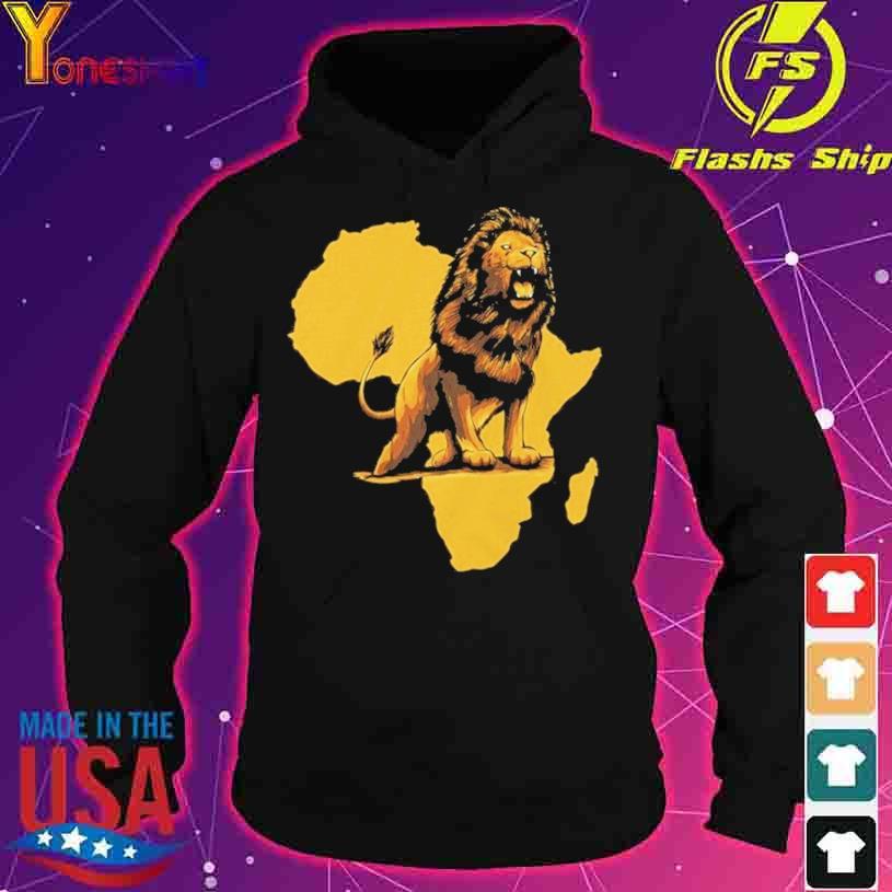 African Lion s hoodie