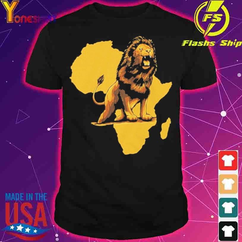 African Lion shirt
