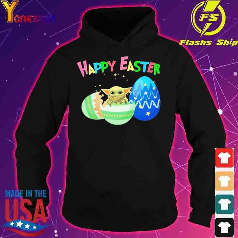 Baby Yoda Happy Easter s hoodie