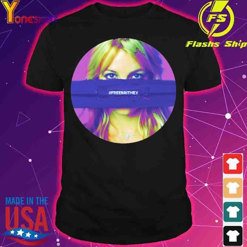 #Freebritney Britney Mask Shirt