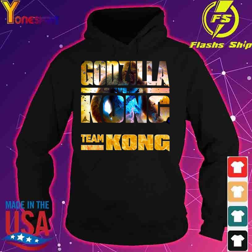 Godzilla Vs Kong Team Kong s hoodie