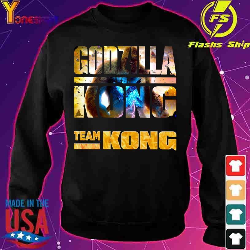 Godzilla Vs Kong Team Kong s sweater