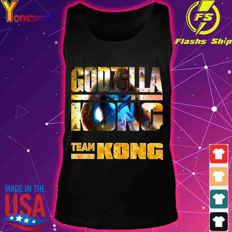 Godzilla Vs Kong Team Kong s tank top
