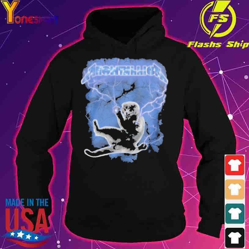 Meowtallica Thunder s hoodie