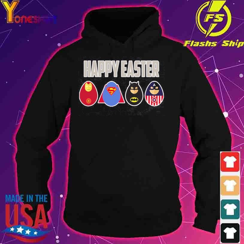 Superheros Happy Easter s hoodie