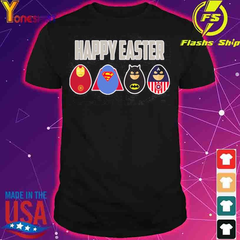 Superheros Happy Easter shirt