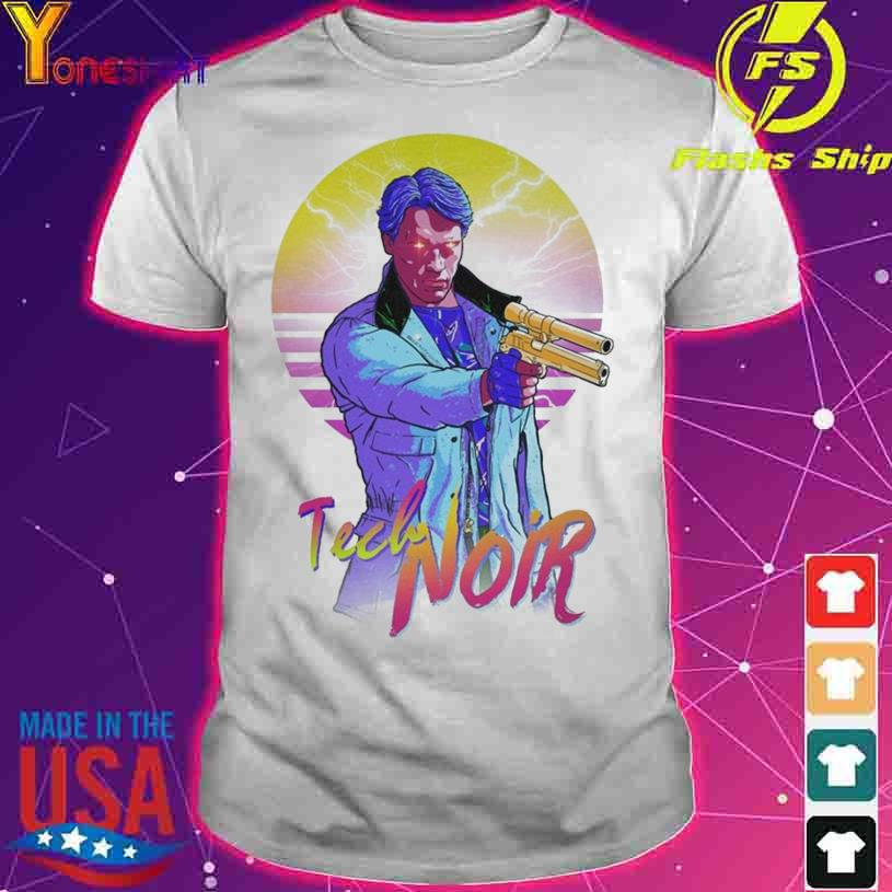 Tech Noir Gun vintage shirt
