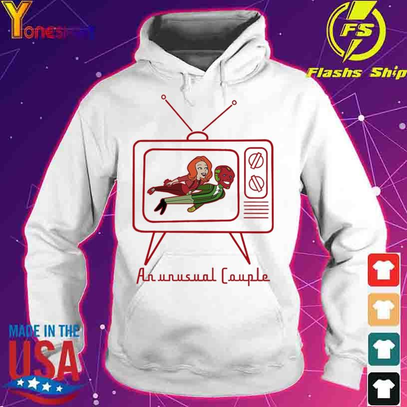 Wanda Vision sweatshirt An Unusual Couple TV s hoodie