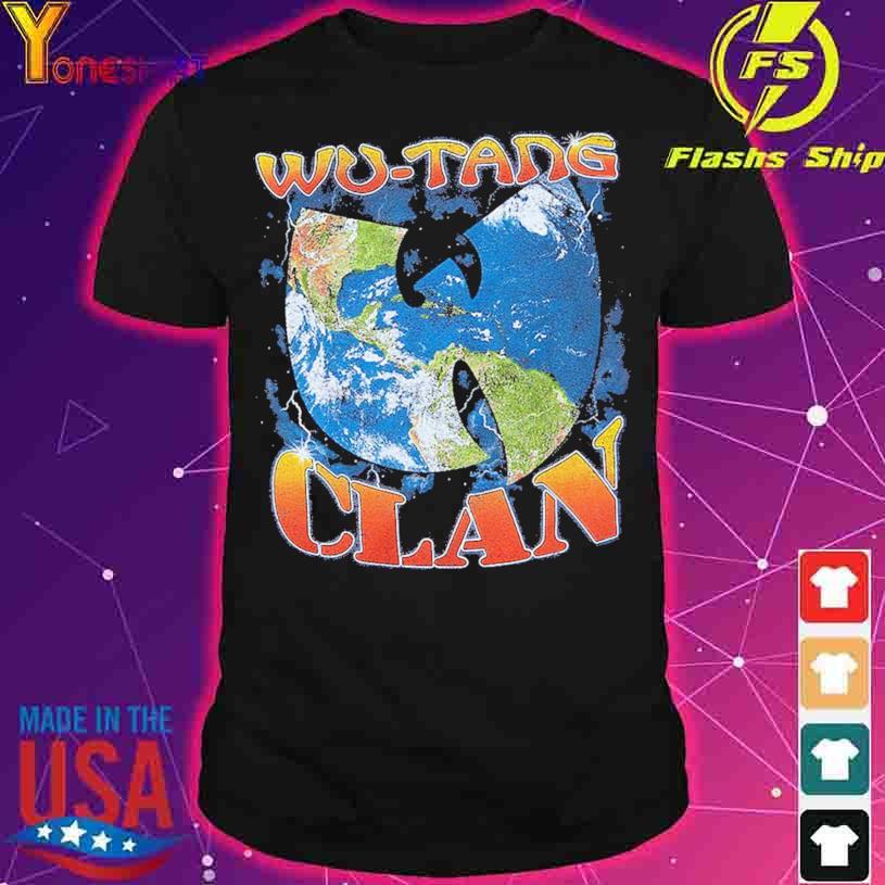 Wu-Tang Clan Earth shirt