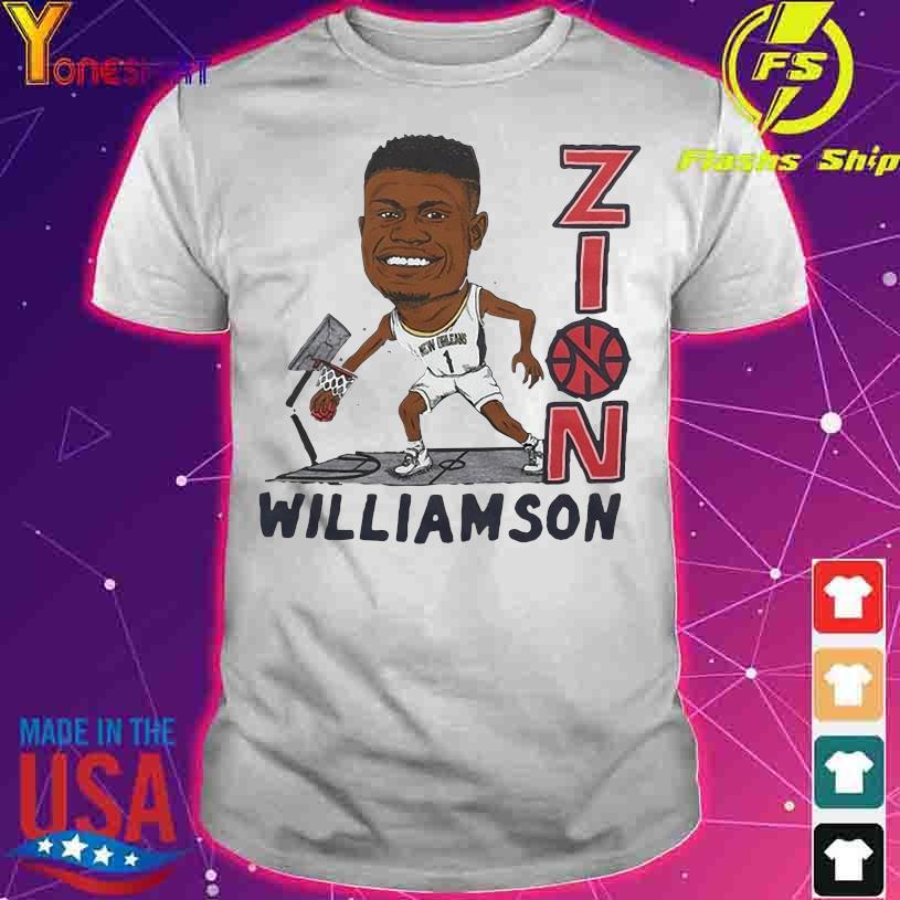 Zion Williamson New Orleans 1 Football shirt