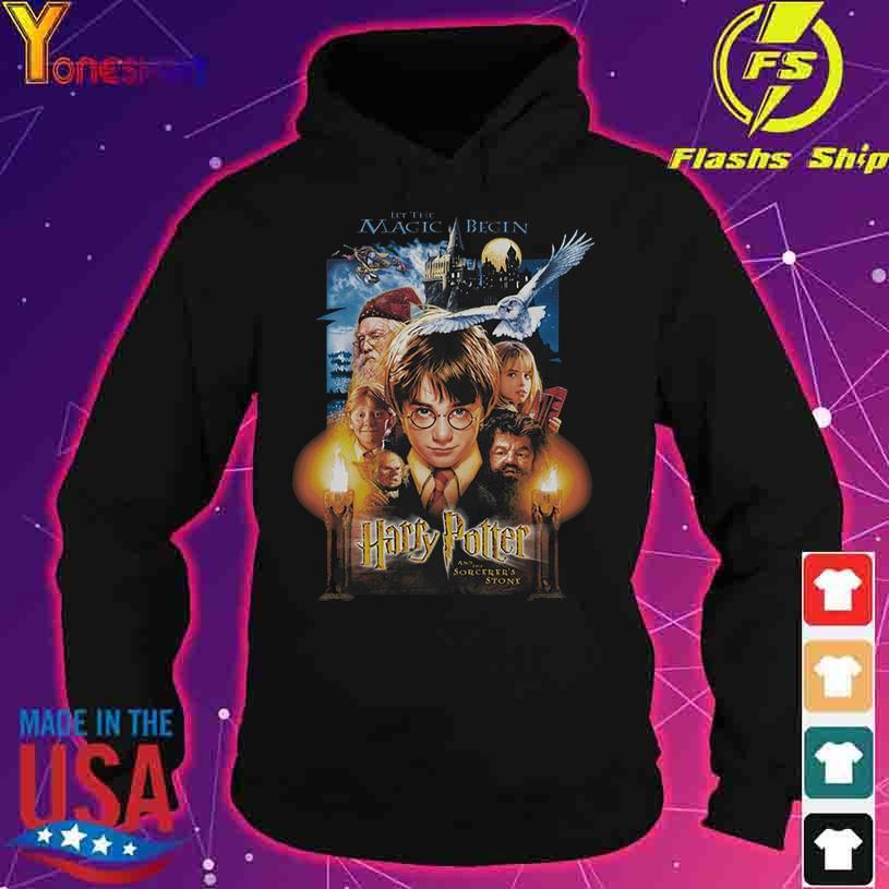 2021 Harry Potter let the Magic Begin s hoodie