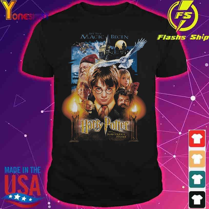 2021 Harry Potter let the Magic Begin shirt