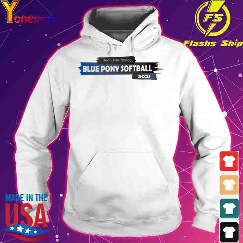 2021 HHS Blue Pony Softball Team Shirt hoodie