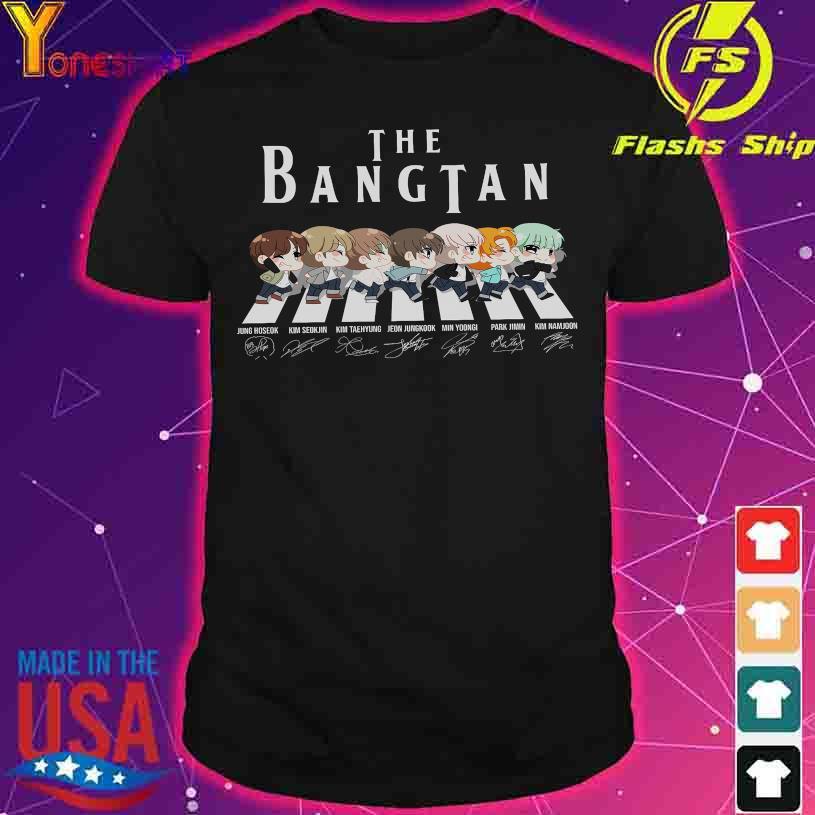 Abbey Road the Bangtan signatures shirt