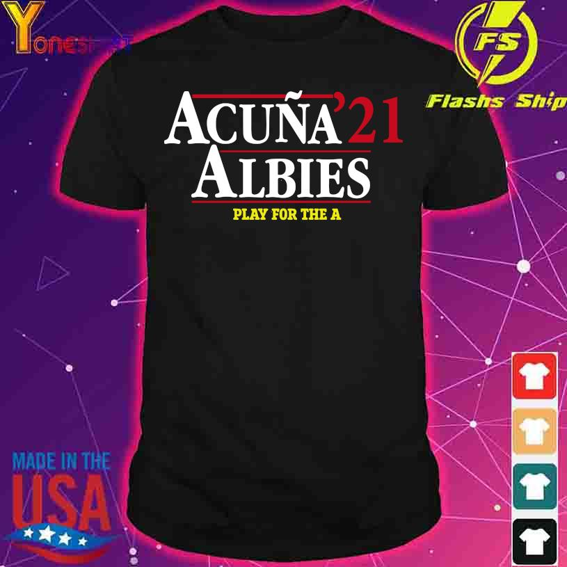 Acuna 21 Albies play for the a shirt