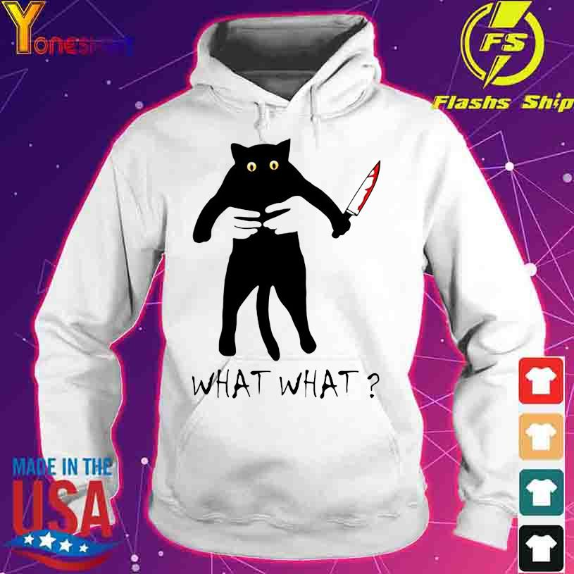 Chucky Black Cat What what s hoodie