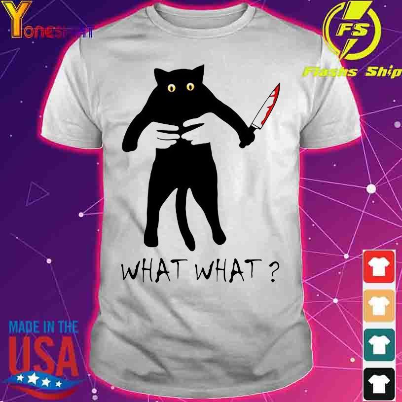 Chucky Black Cat What what shirt