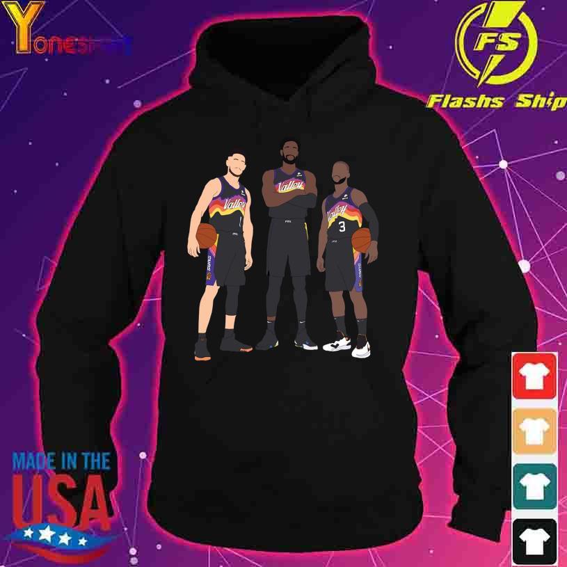 Devin Booker Chris Paul Deandre Ayton s hoodie