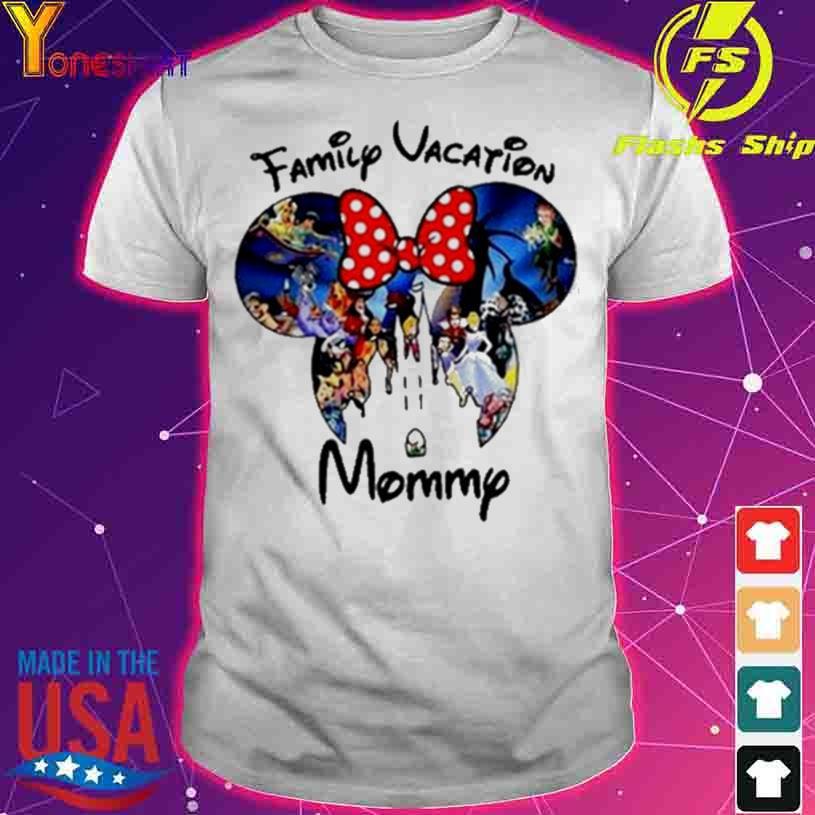 Disney Family Vacation Mommy shirt