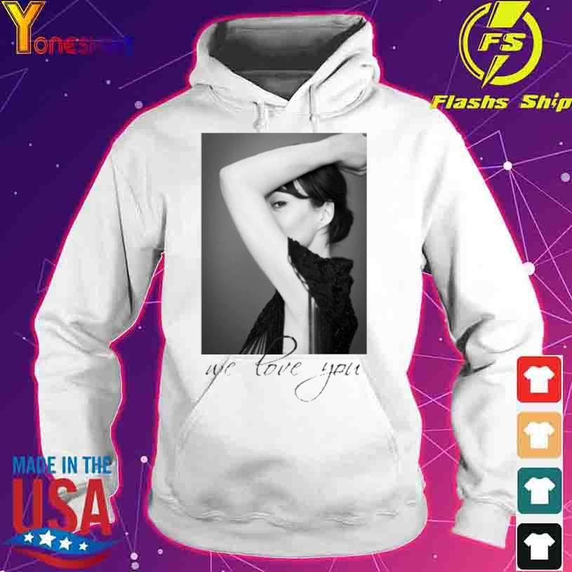 Helen Mccrory We Love You Shirt hoodie