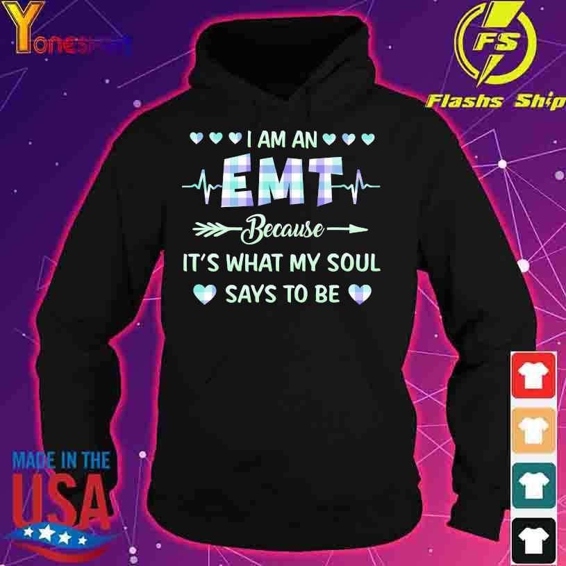 I am a EMT therapist because it's what my soul says to be s hoodie
