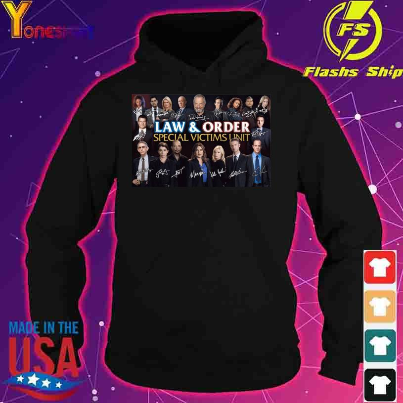 Law And Order Special Victims Unit Signatures s hoodie