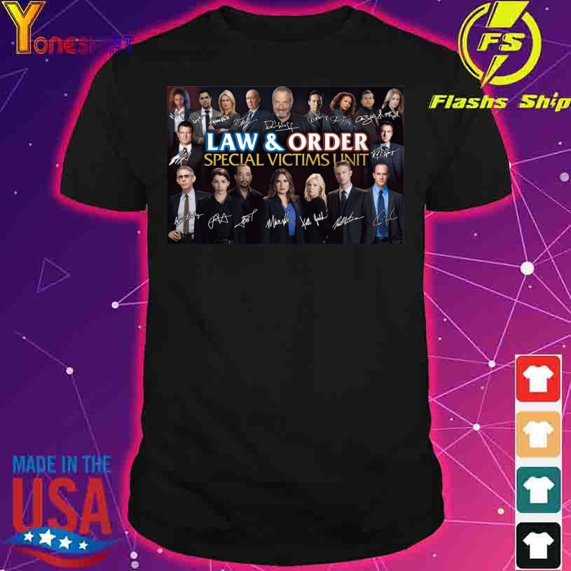 Law And Order Special Victims Unit Signatures shirt