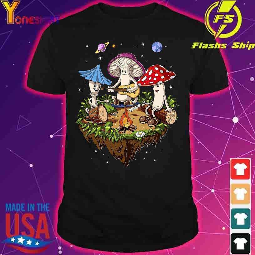 Mushroom play Music shirt