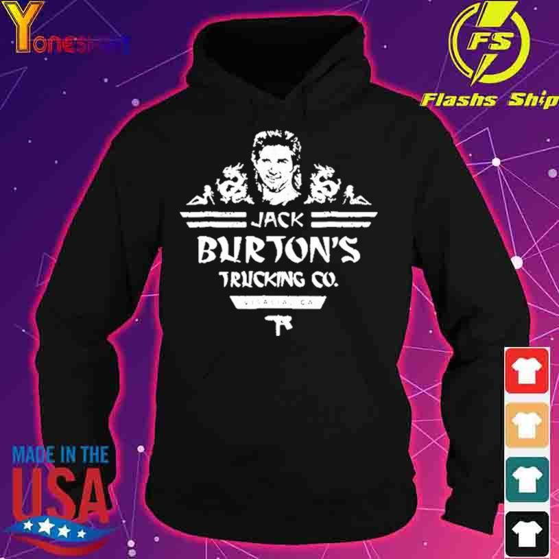 Official Jack Burton's Trucking Co Shirt hoodie