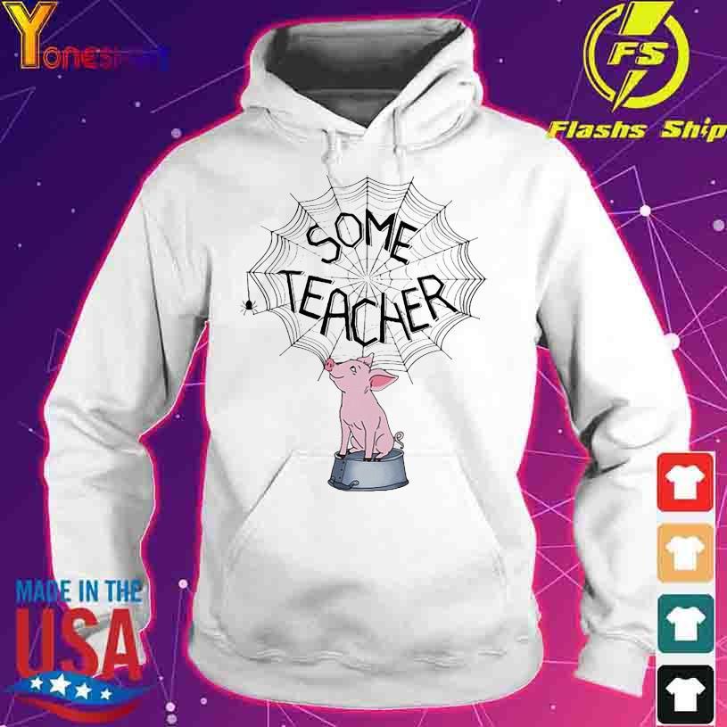 Pig Sime Teacher s hoodie