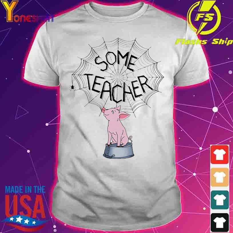 Pig Sime Teacher shirt