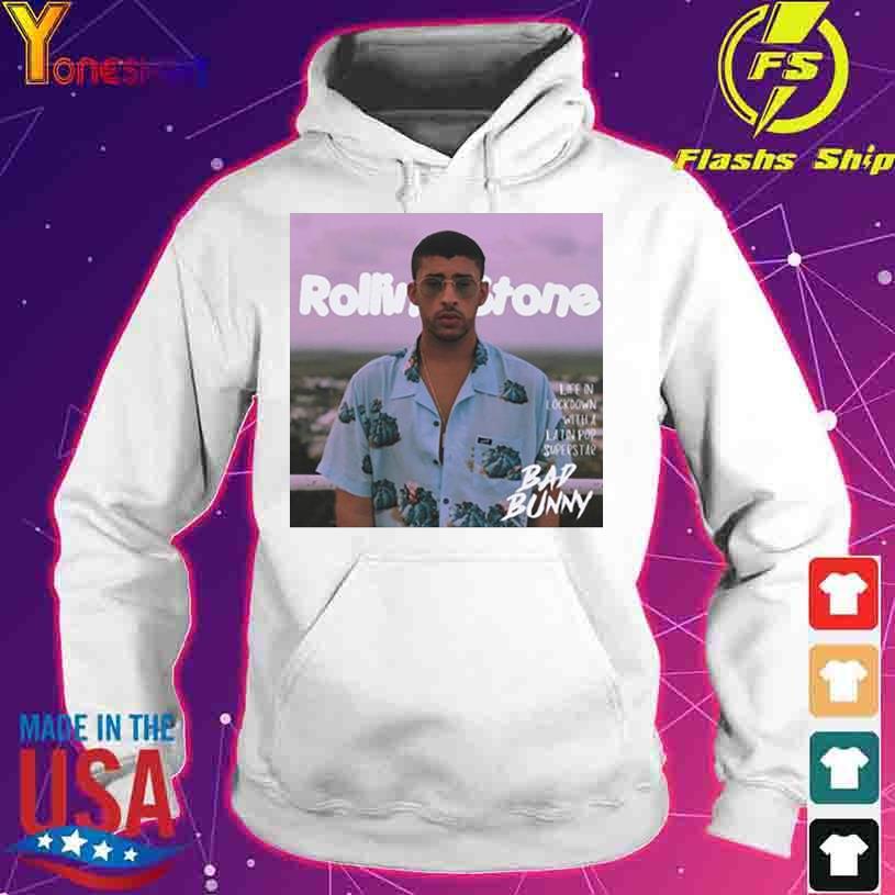 Rolling Stone Bad Bunny s hoodie