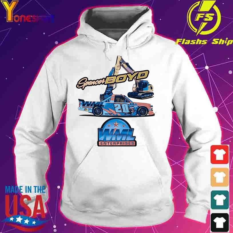 Spencer Boyd WML Enterprises 20 s hoodie