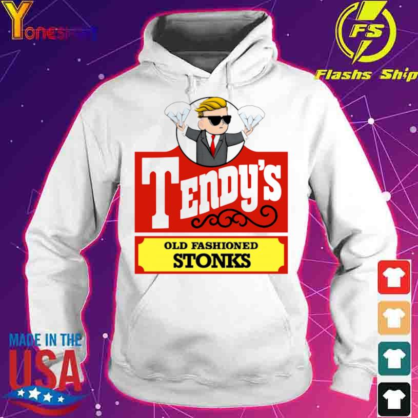 Tendys Stonks Old Fashioned Trader Investing Hodl Shirt hoodie