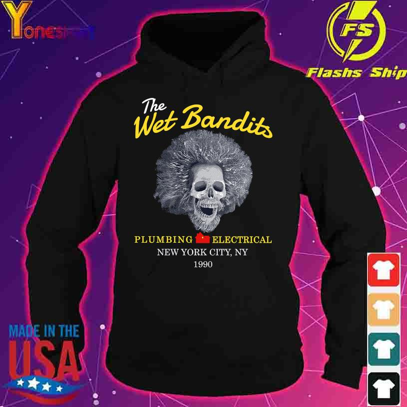 The Wet Bandits Plumbing Electrical New York City NY 1990 s hoodie