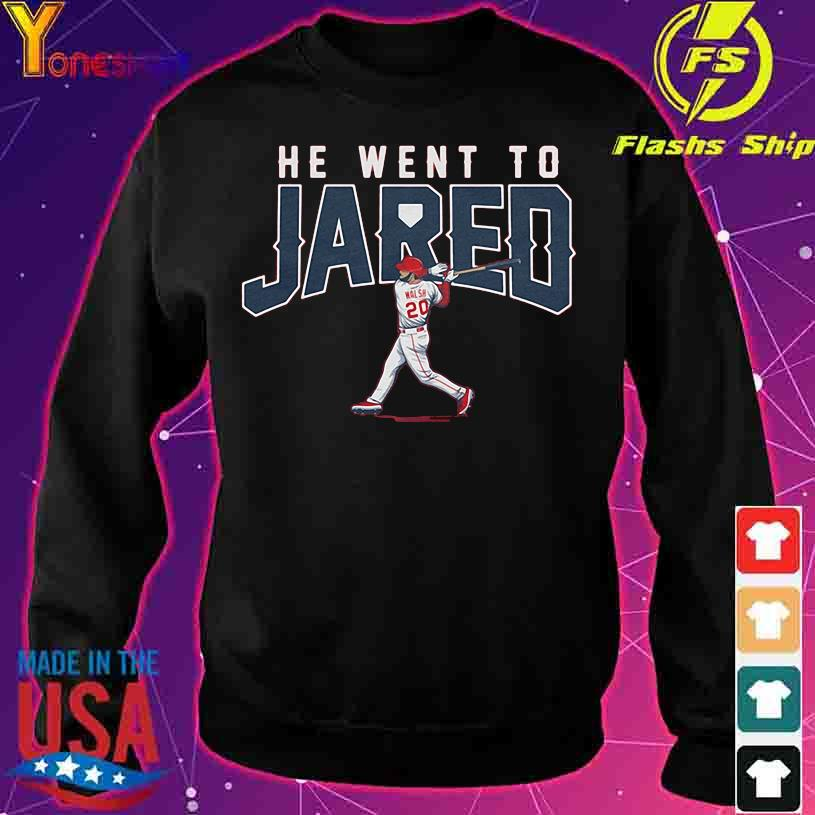 Walsh 20 He went to Jared s sweater