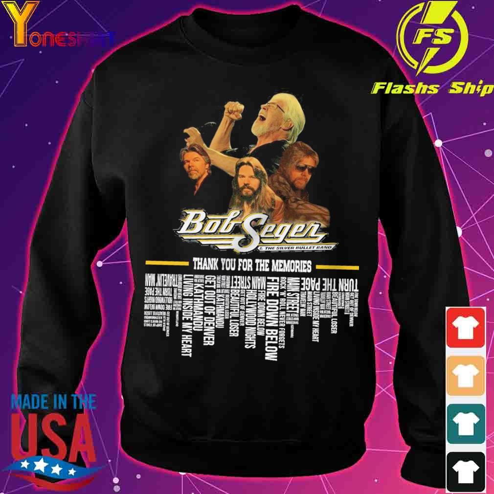 Botsegen the Silver Bullet band thank you for the memories s sweater
