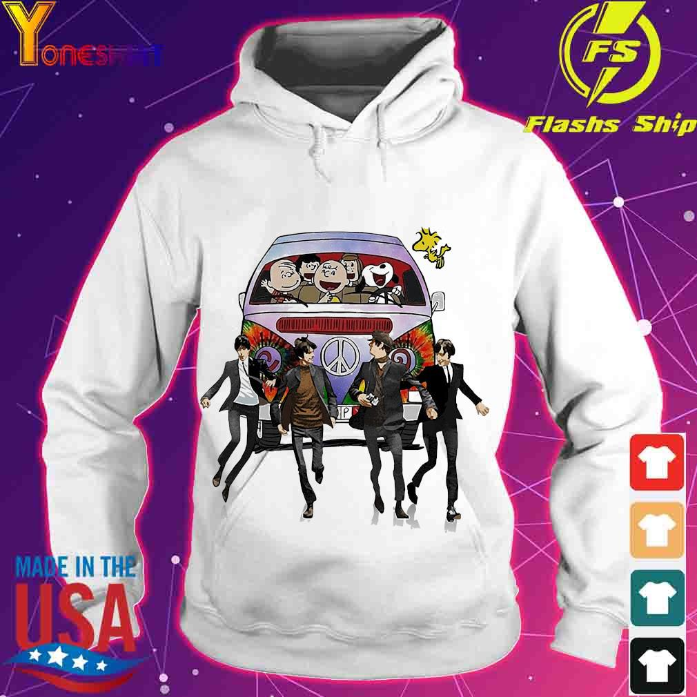 Hippie The The Peanuts and The Beatle s hoodie