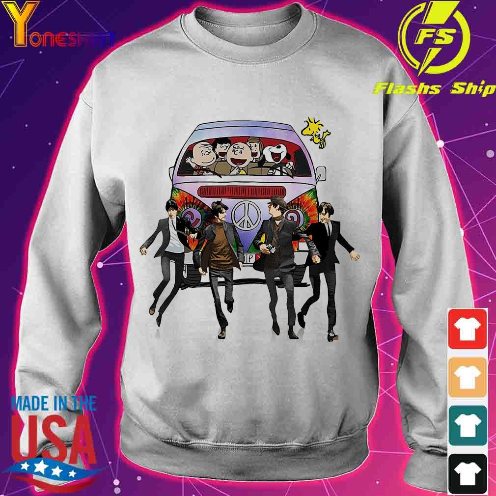 Hippie The The Peanuts and The Beatle s sweater