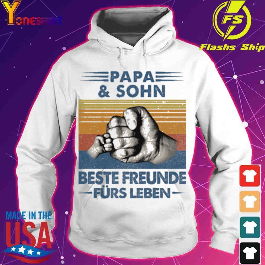 Papa and Sohn Beste Freunde Fürs Leben Vatertag Partnerlook Shirt hoodie
