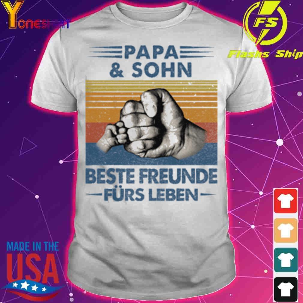 Papa and Sohn Beste Freunde Fürs Leben Vatertag Partnerlook Shirt