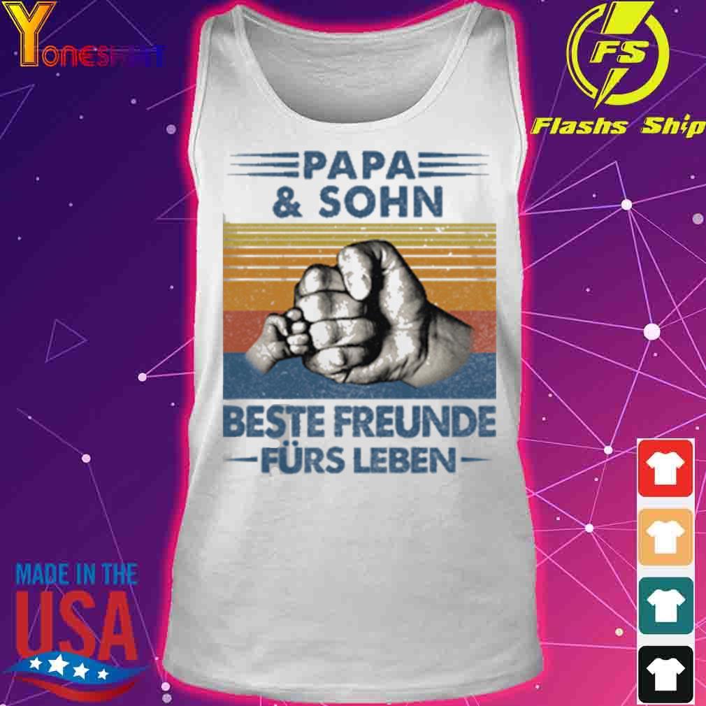 Papa and Sohn Beste Freunde Fürs Leben Vatertag Partnerlook Shirt tank top