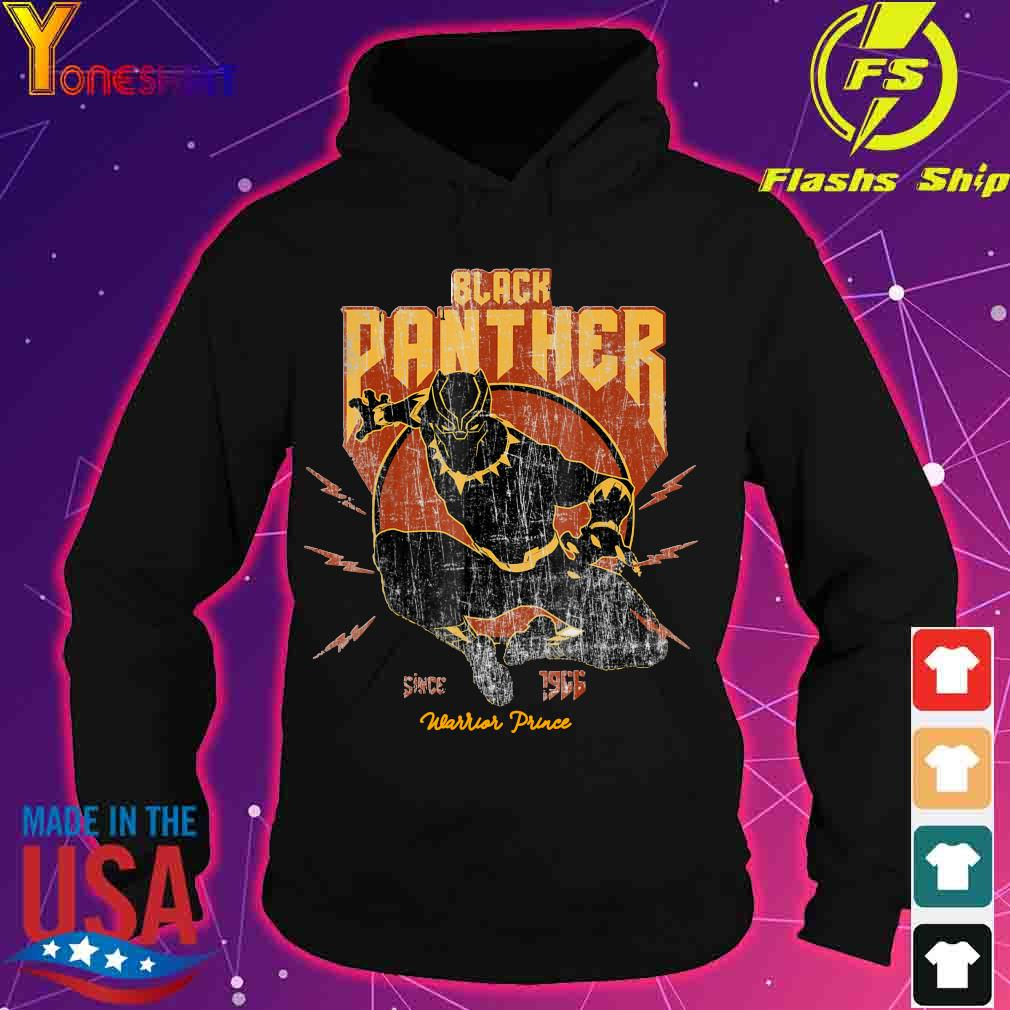 Black Panther since 1966 Warrior Prince s hoodie