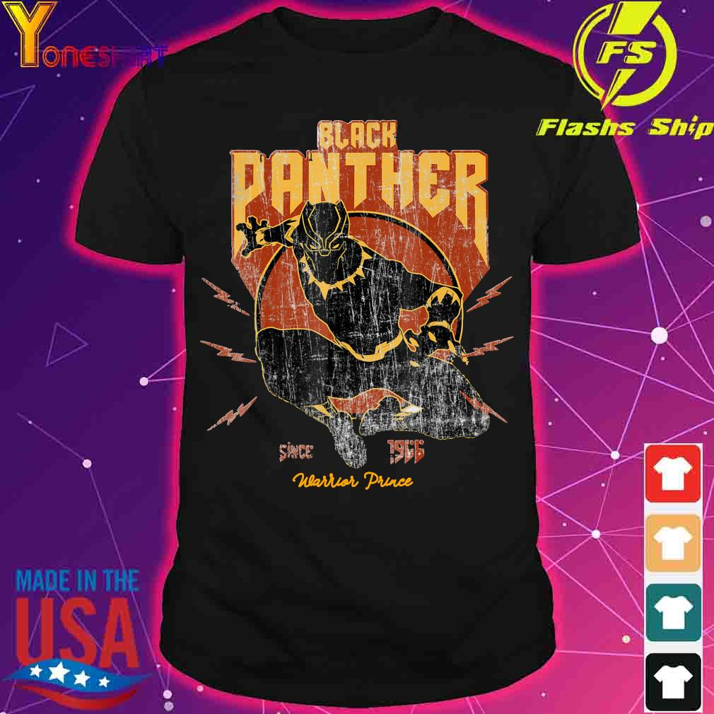 Black Panther since 1966 Warrior Prince shirt