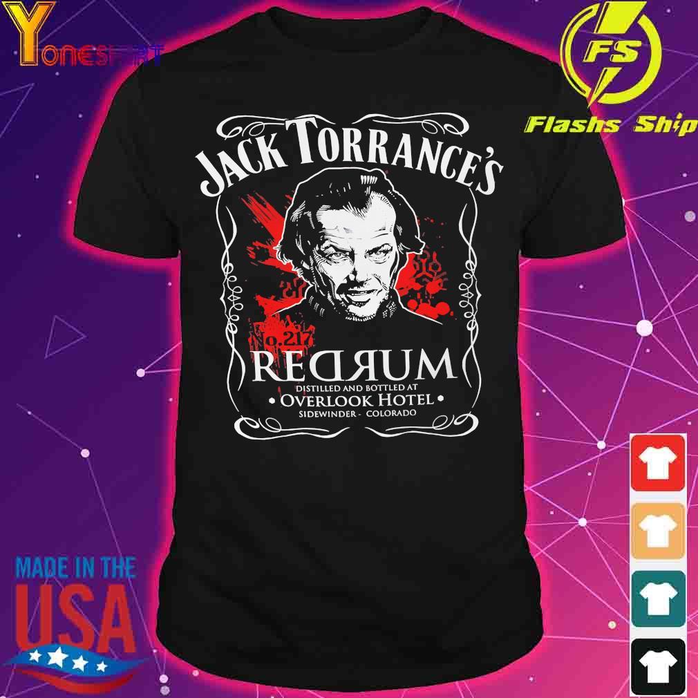 Jack Torrance's Redrum shirt
