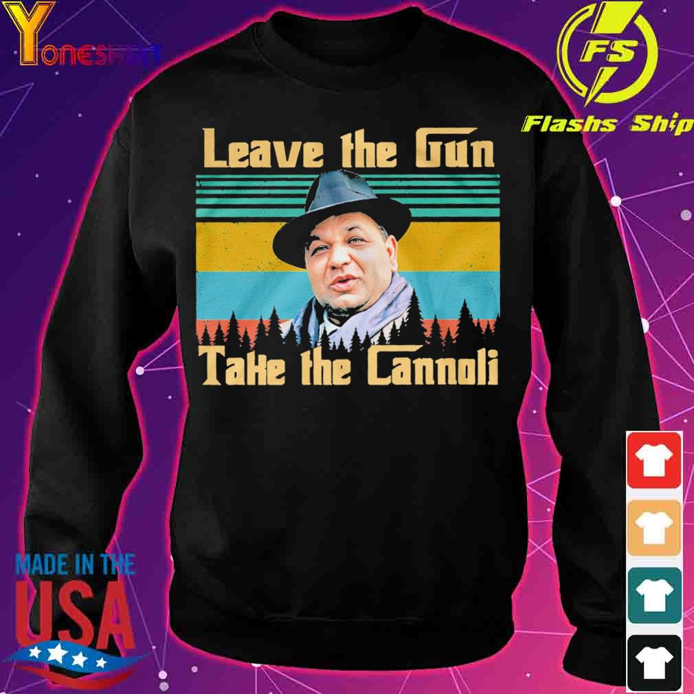 Leave the Gun take the Cannoli vintage s sweater