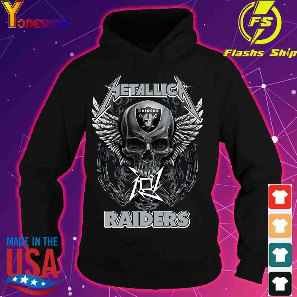 Skull Metallic Raiders s hoodie