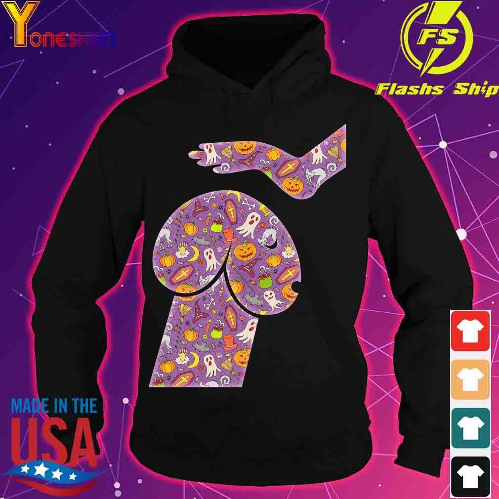 Dog Penis Halloween icon s hoodie