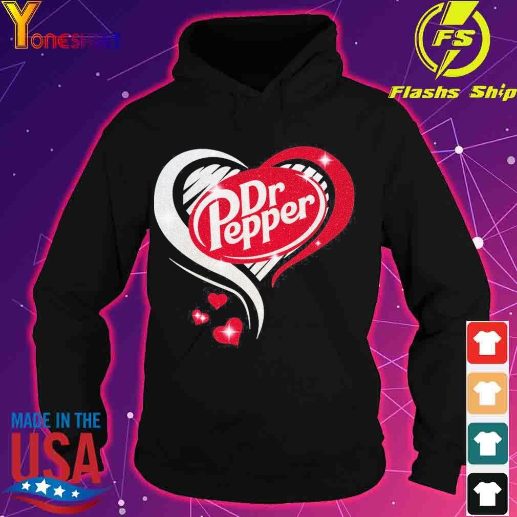 Dr Pepper love Heart s hoodie