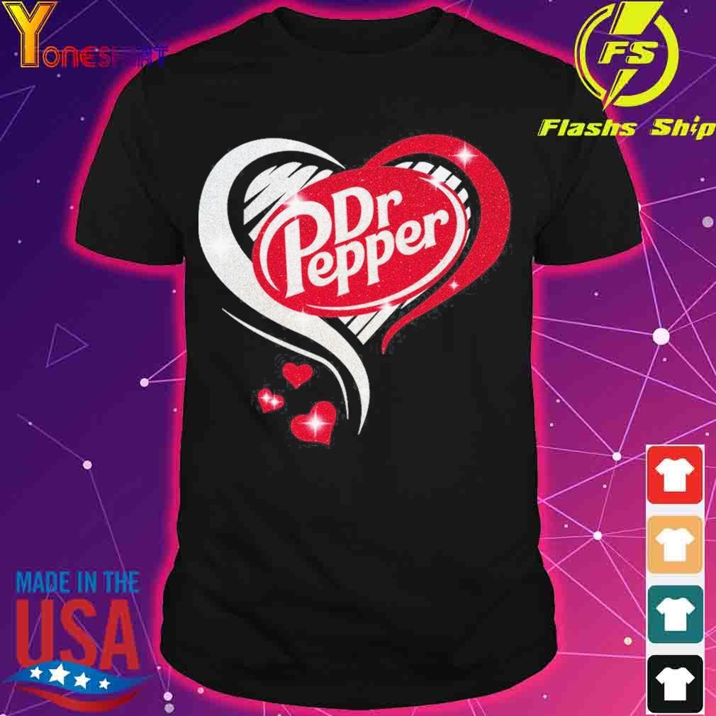 Dr Pepper love Heart shirt